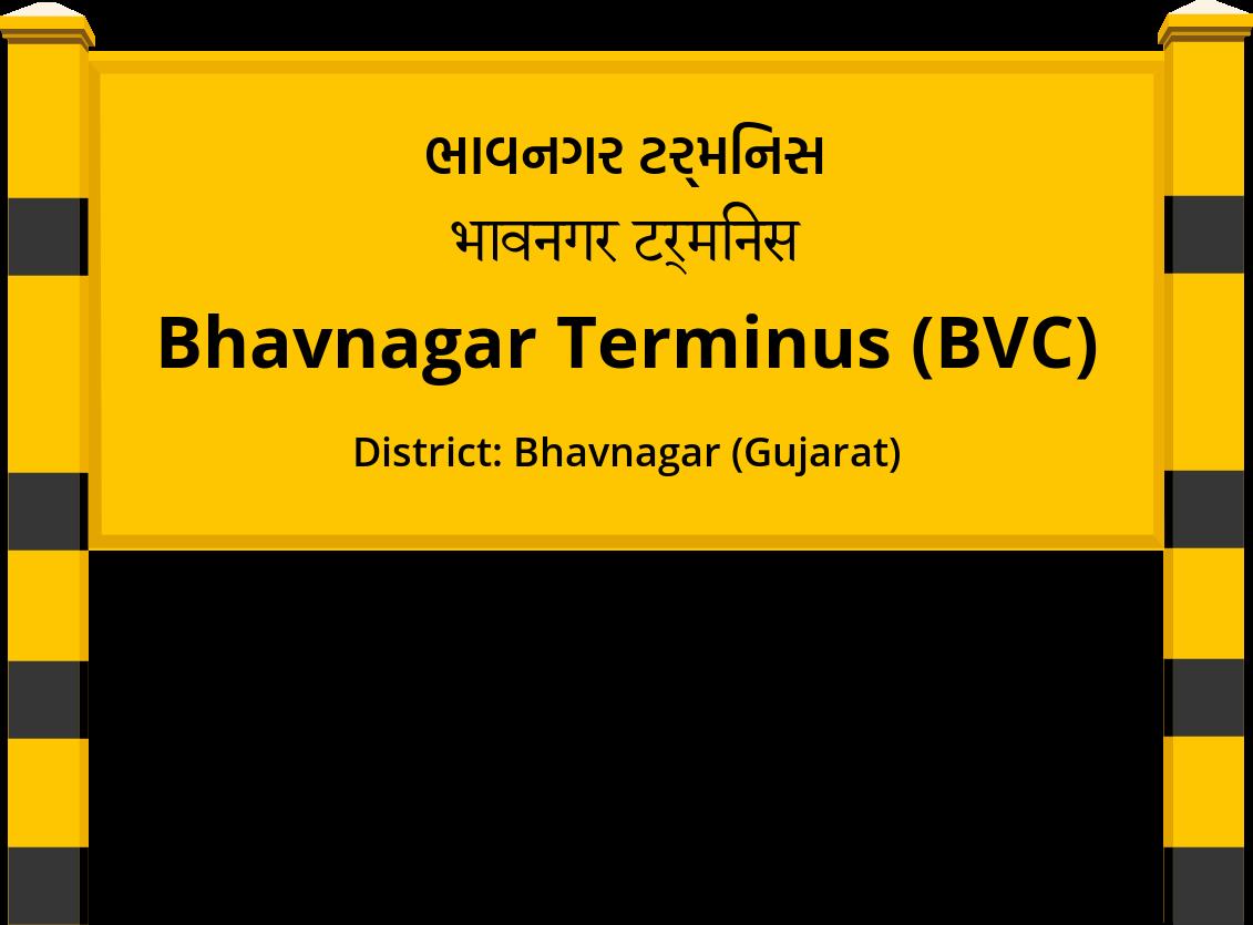 Bhavnagar Terminus (BVC) Railway Station
