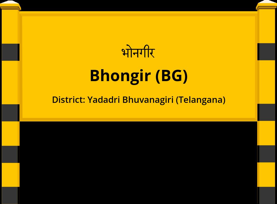 Bhongir (BG) Railway Station