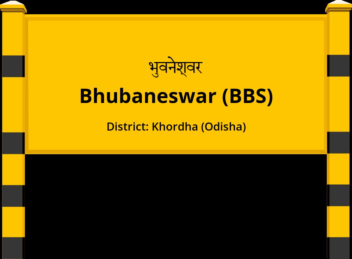 Bhubaneswar (BBS) Railway Station