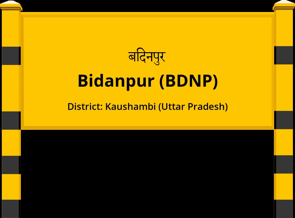 Bidanpur (BDNP) Railway Station