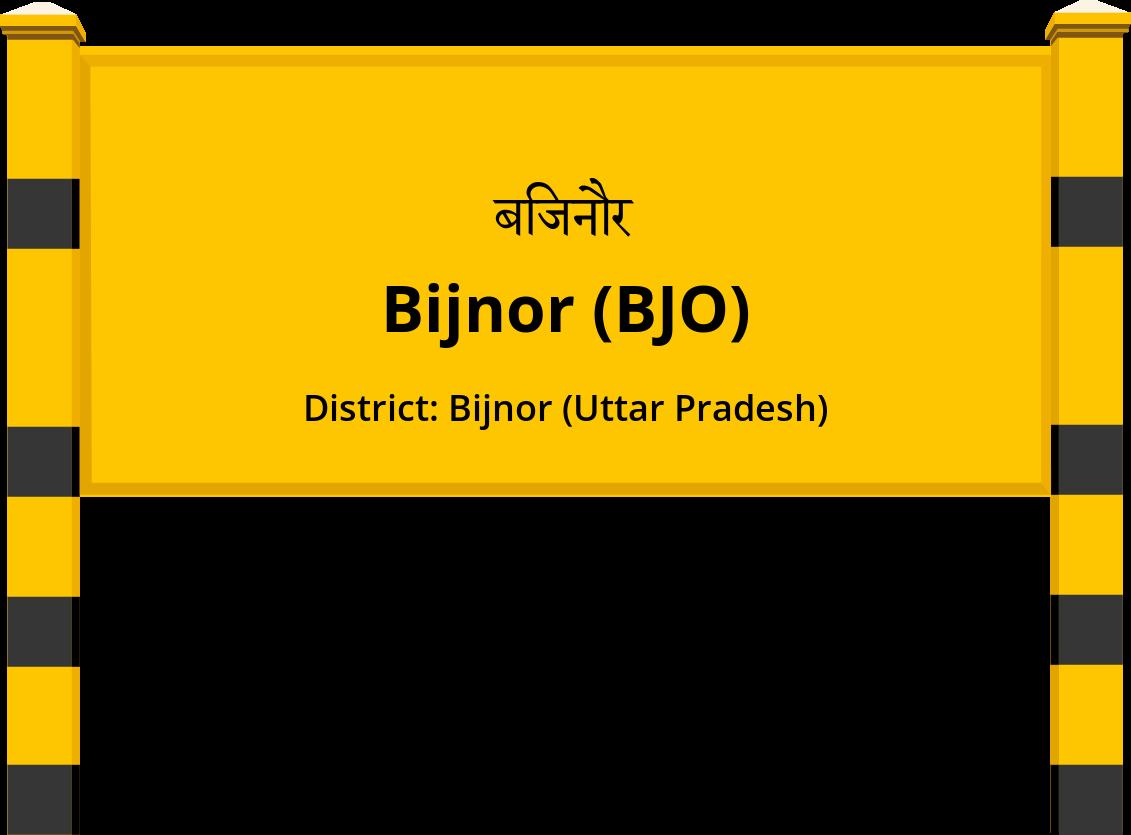 Bijnor (BJO) Railway Station
