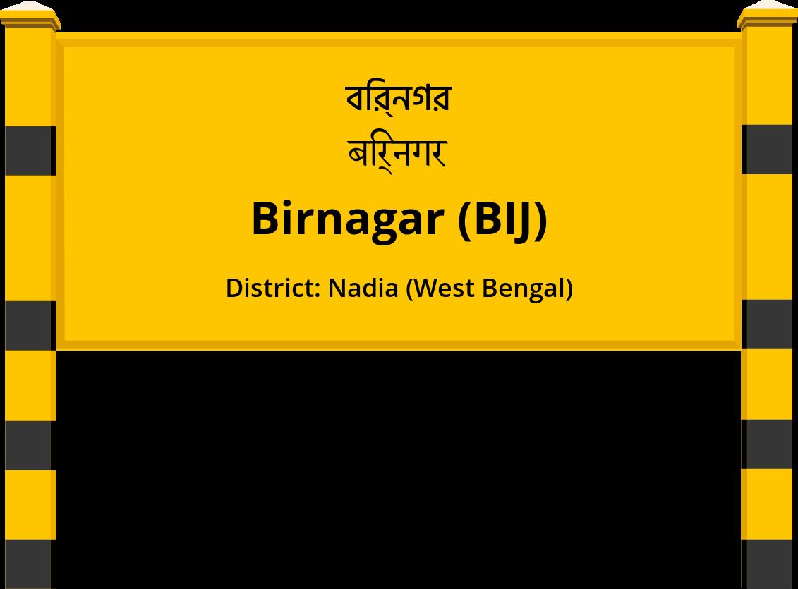 Birnagar (BIJ) Railway Station