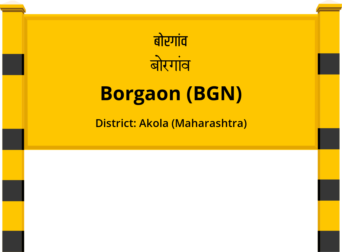 Borgaon (BGN) Railway Station