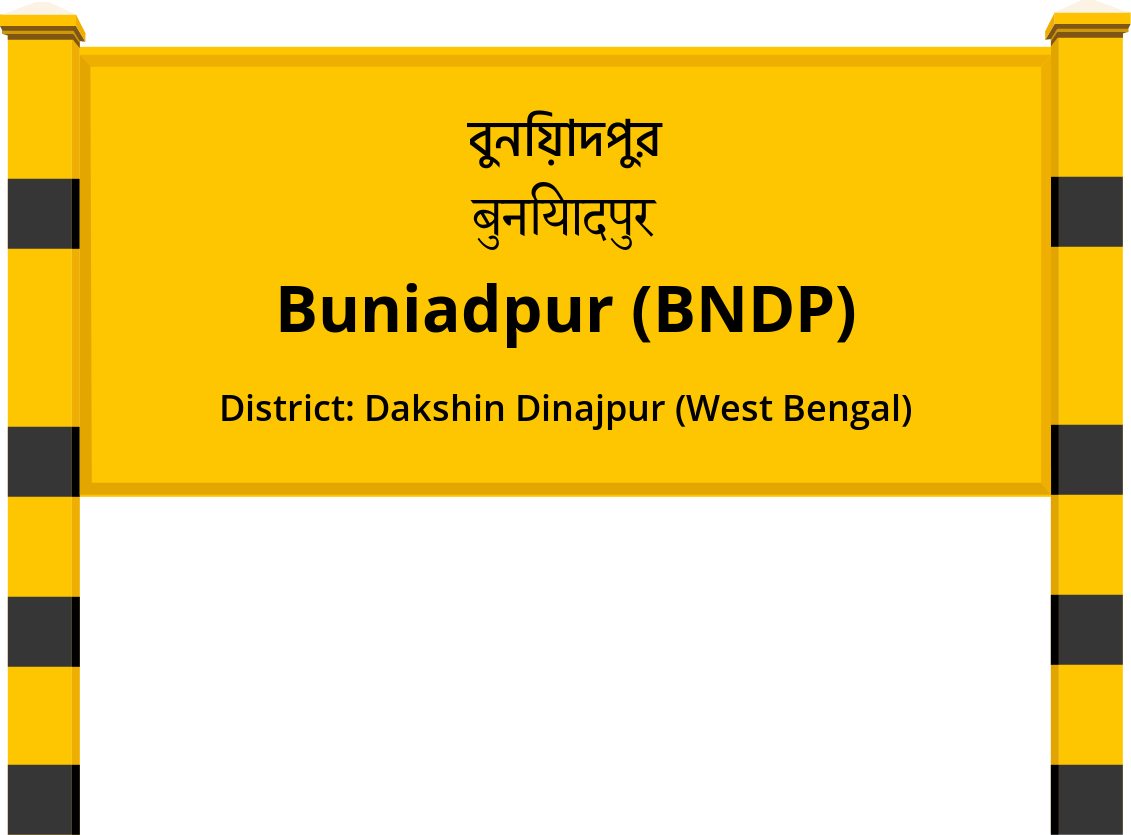 Buniadpur (BNDP) Railway Station