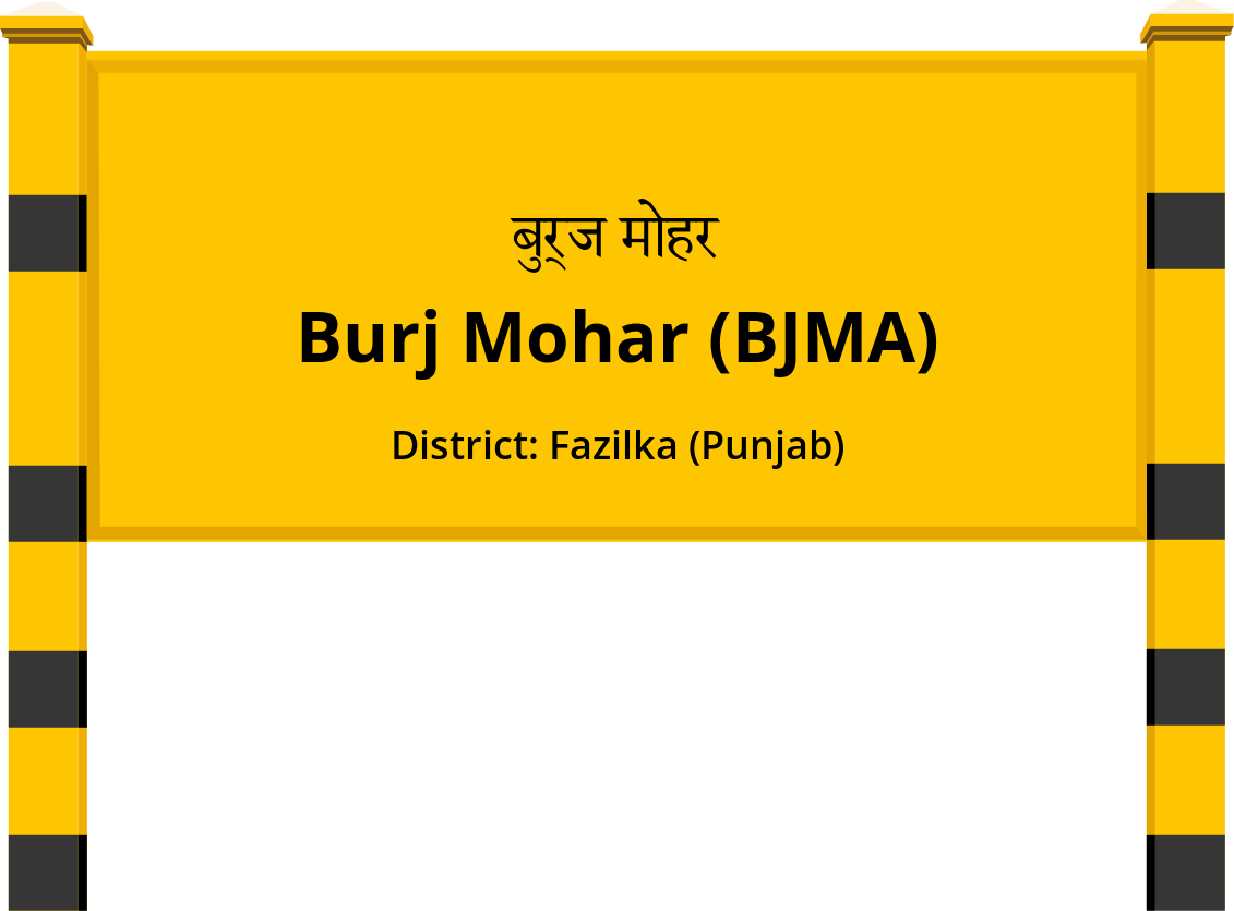 Burj Mohar (BJMA) Railway Station