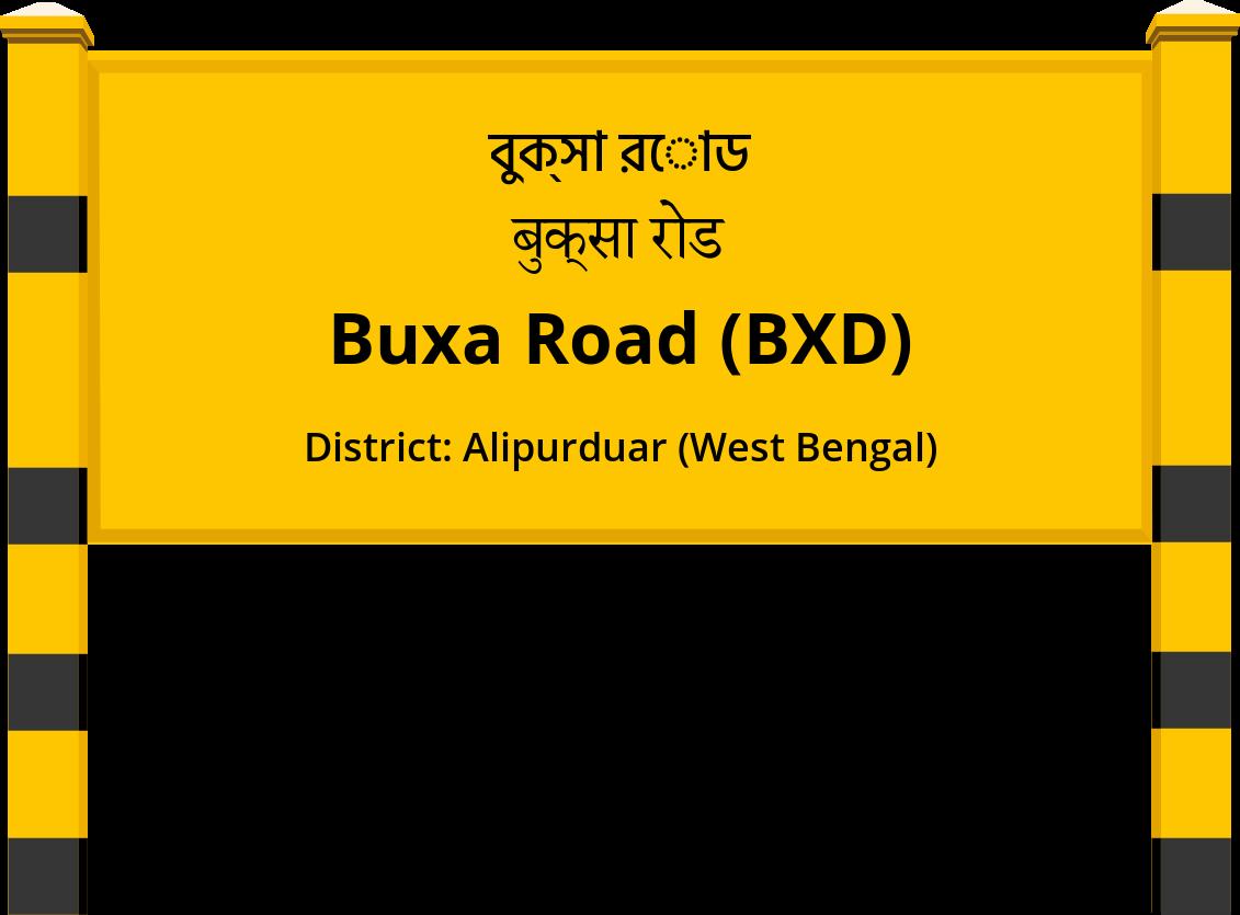 Buxa Road (BXD) Railway Station