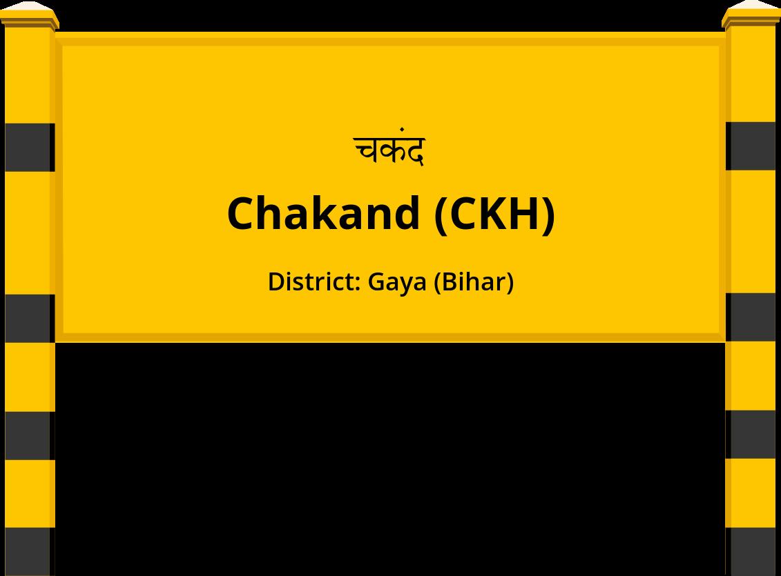 Chakand (CKH) Railway Station