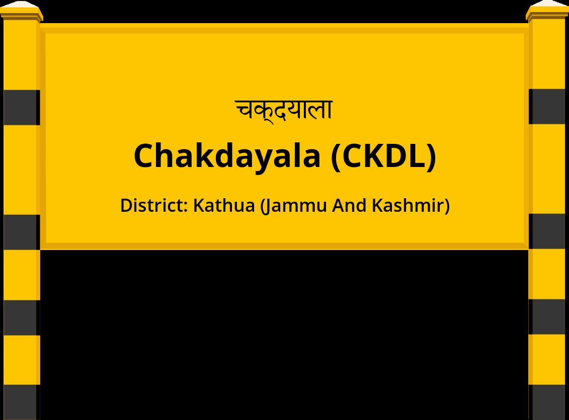 Chakdayala (CKDL) Railway Station