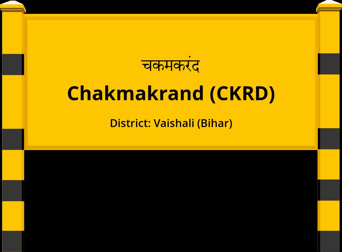 Chakmakrand (CKRD) Railway Station