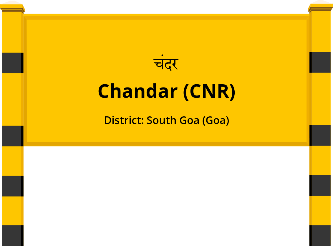 Chandar (CNR) Railway Station