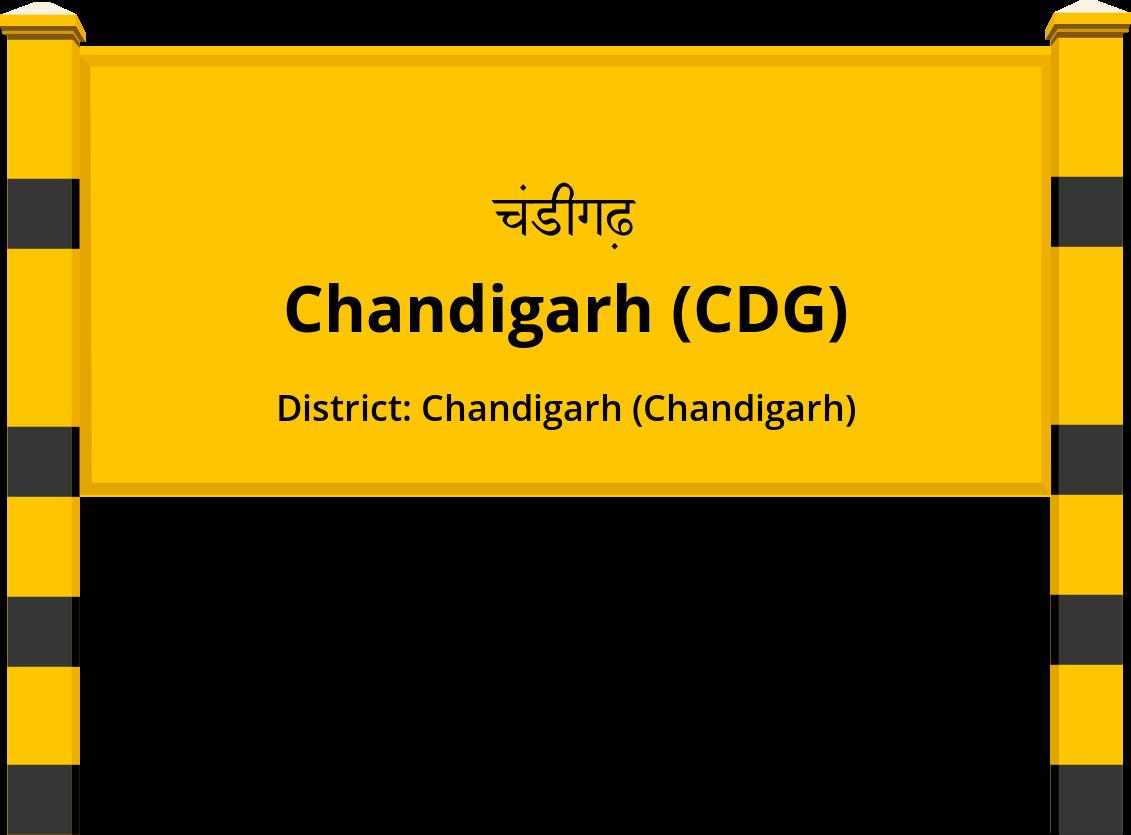Chandigarh (CDG) Railway Station