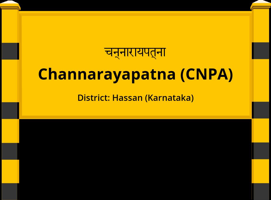 Channarayapatna (CNPA) Railway Station