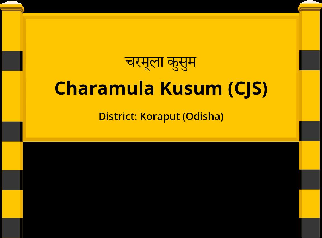 Charamula Kusum (CJS) Railway Station