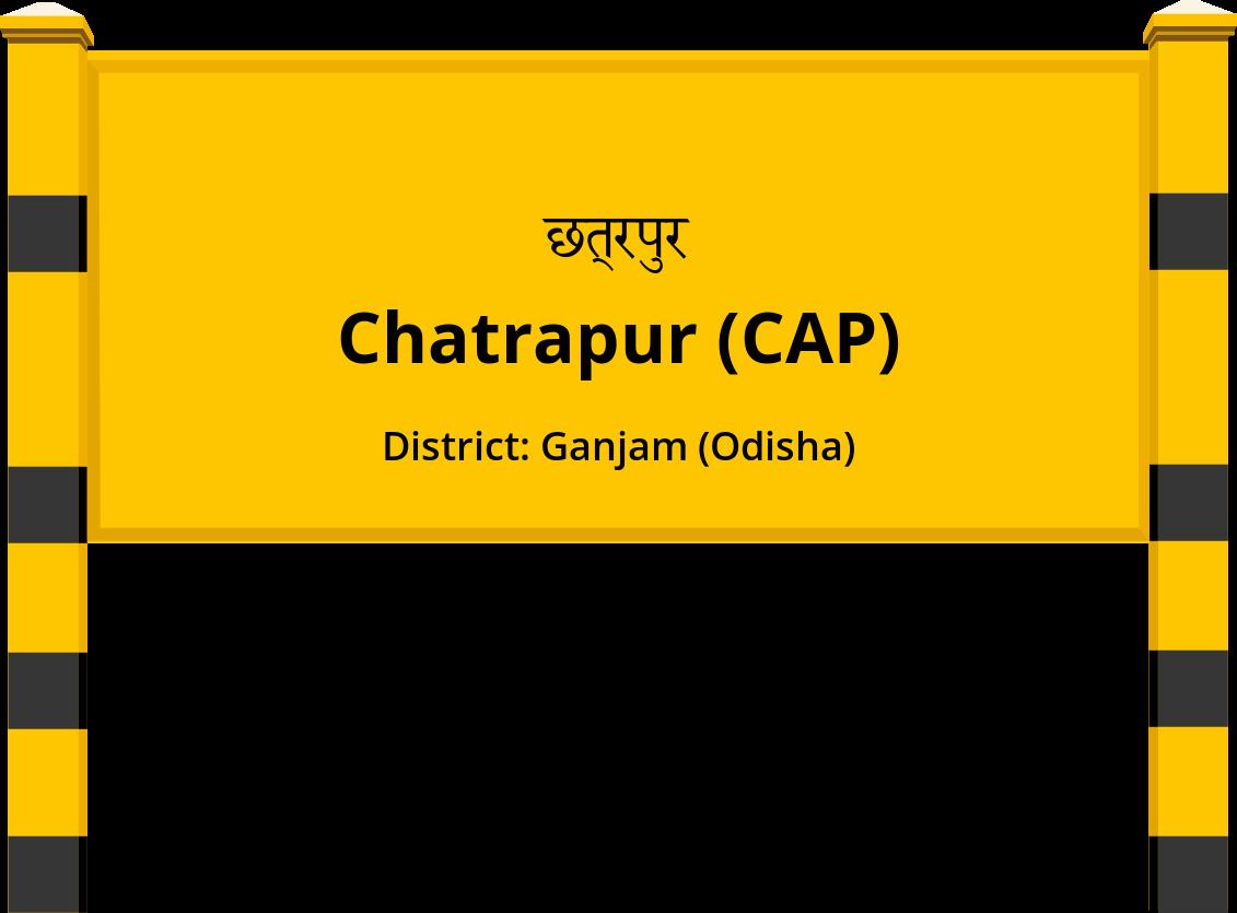 Chatrapur (CAP) Railway Station