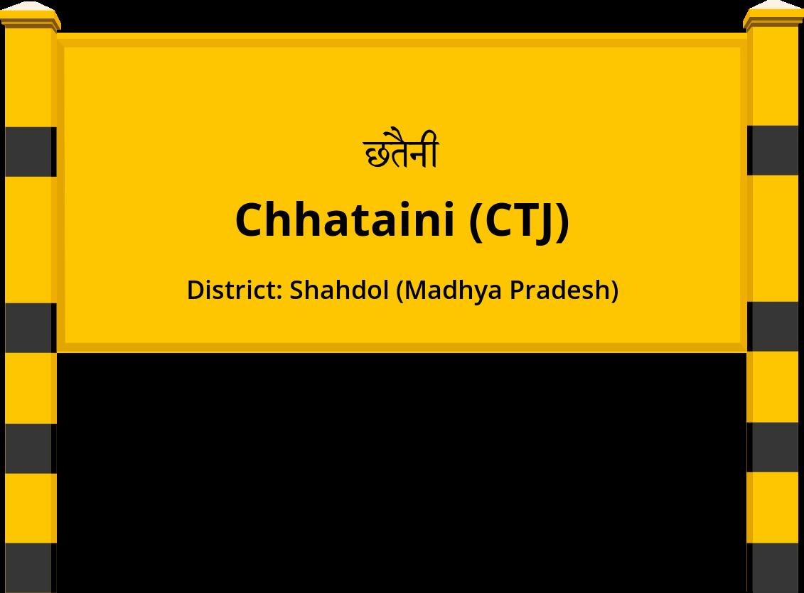 Chhataini (CTJ) Railway Station