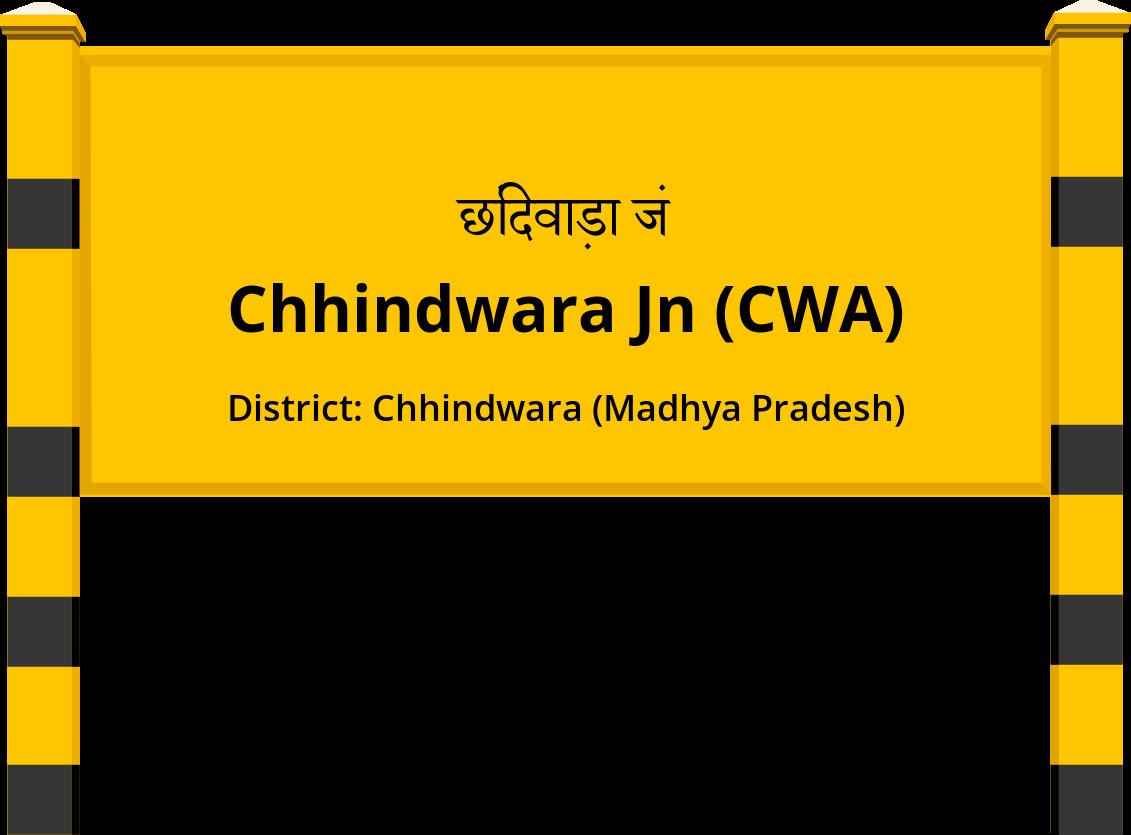 Chhindwara Jn (CWA) Railway Station