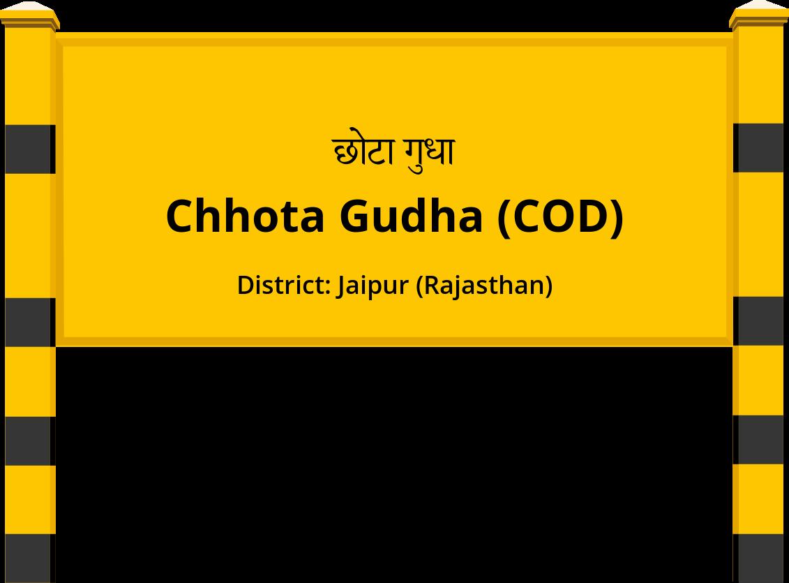 Chhota Gudha (COD) Railway Station
