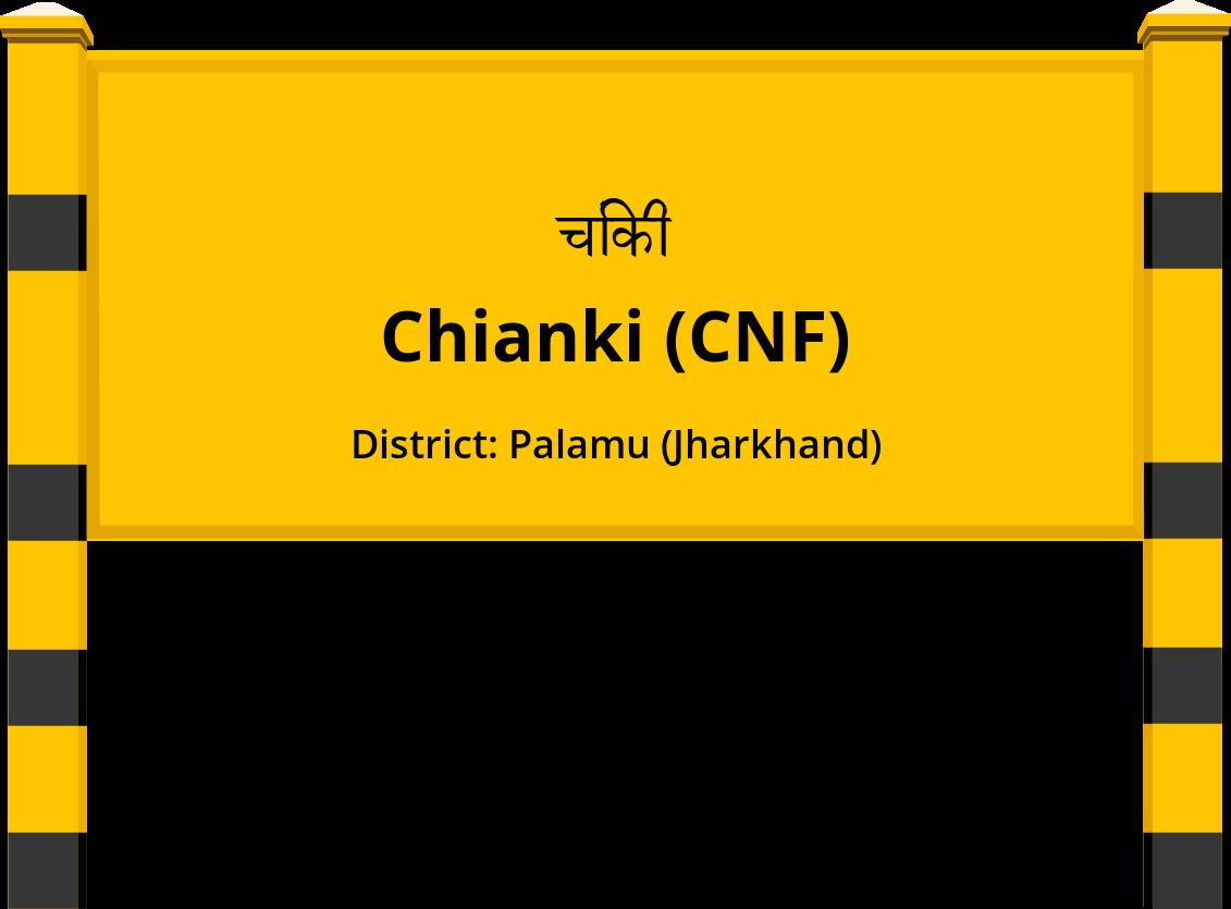 Chianki (CNF) Railway Station
