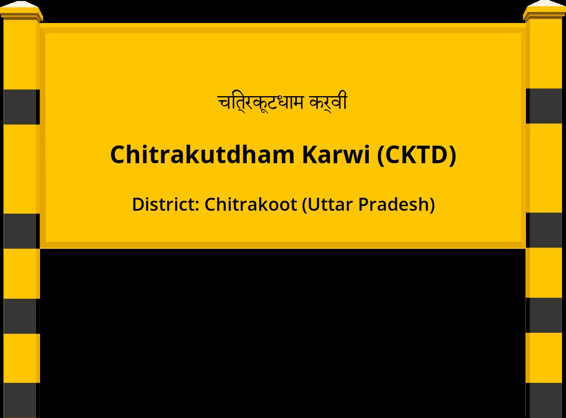Chitrakutdham Karwi (CKTD) Railway Station