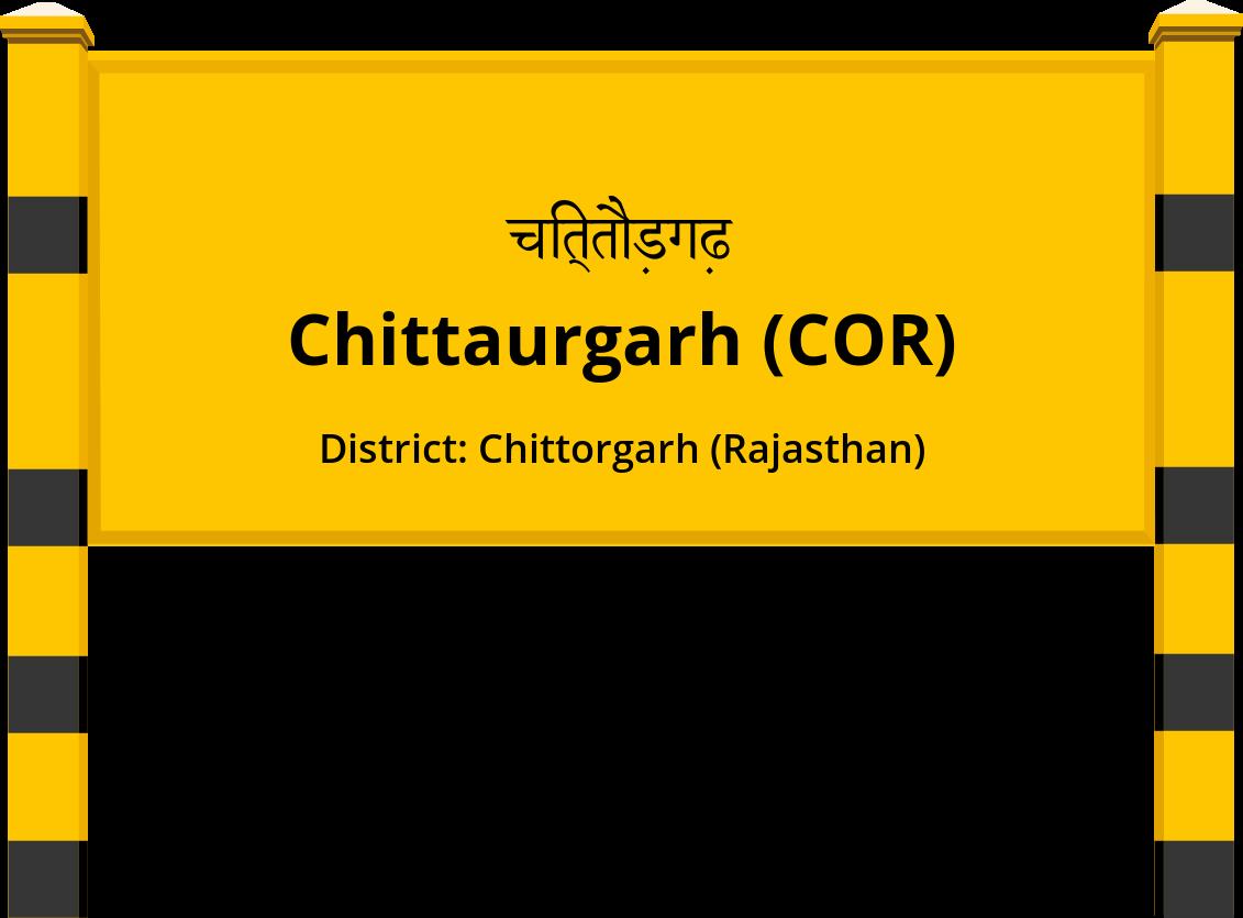 Chittaurgarh (COR) Railway Station
