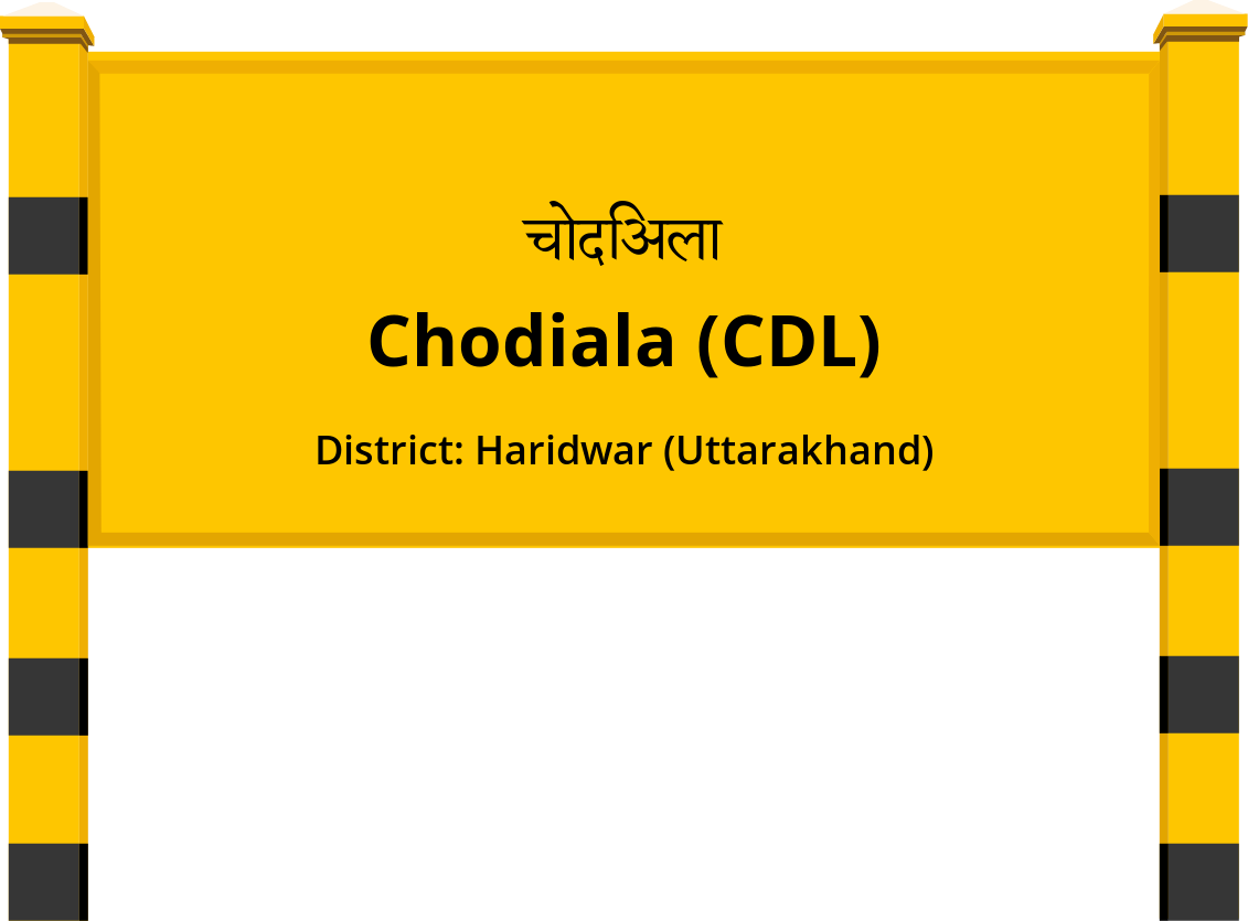 Chodiala (CDL) Railway Station