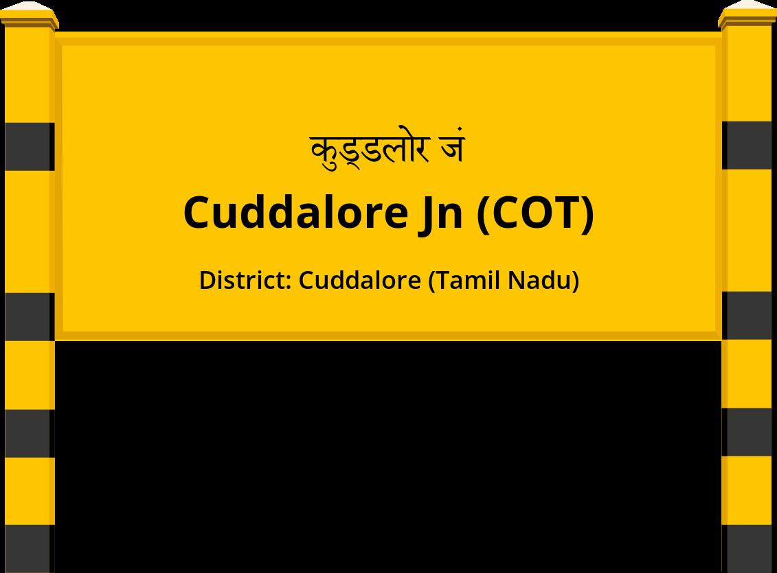 Cuddalore Jn (COT) Railway Station