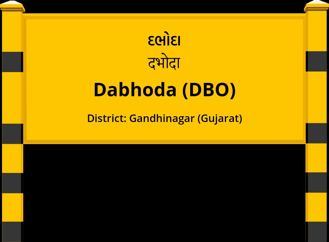 Dabhoda (DBO) Railway Station