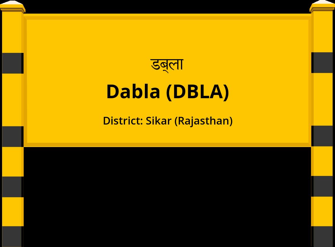 Dabla (DBLA) Railway Station