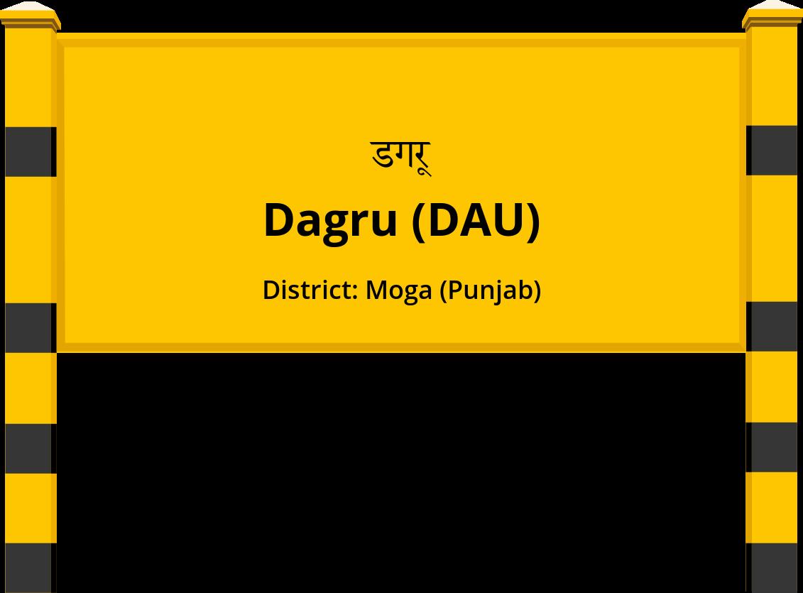 Dagru (DAU) Railway Station