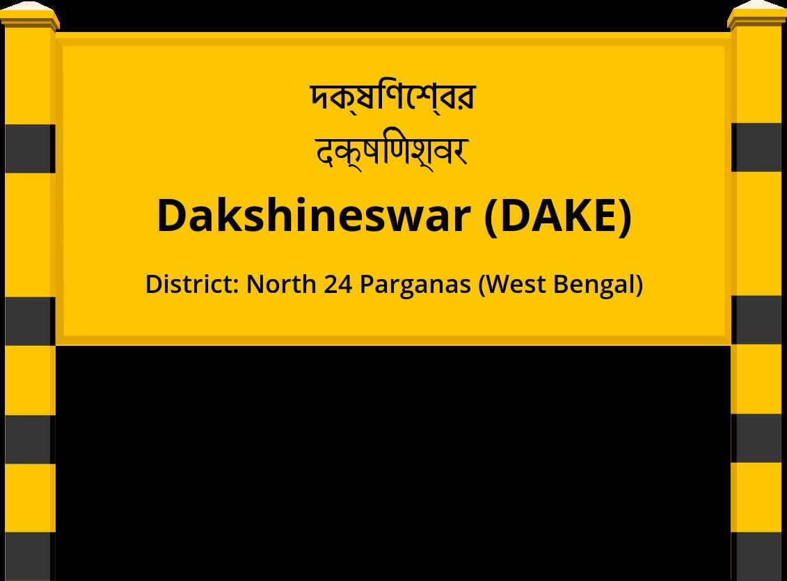 Dakshineswar (DAKE) Railway Station