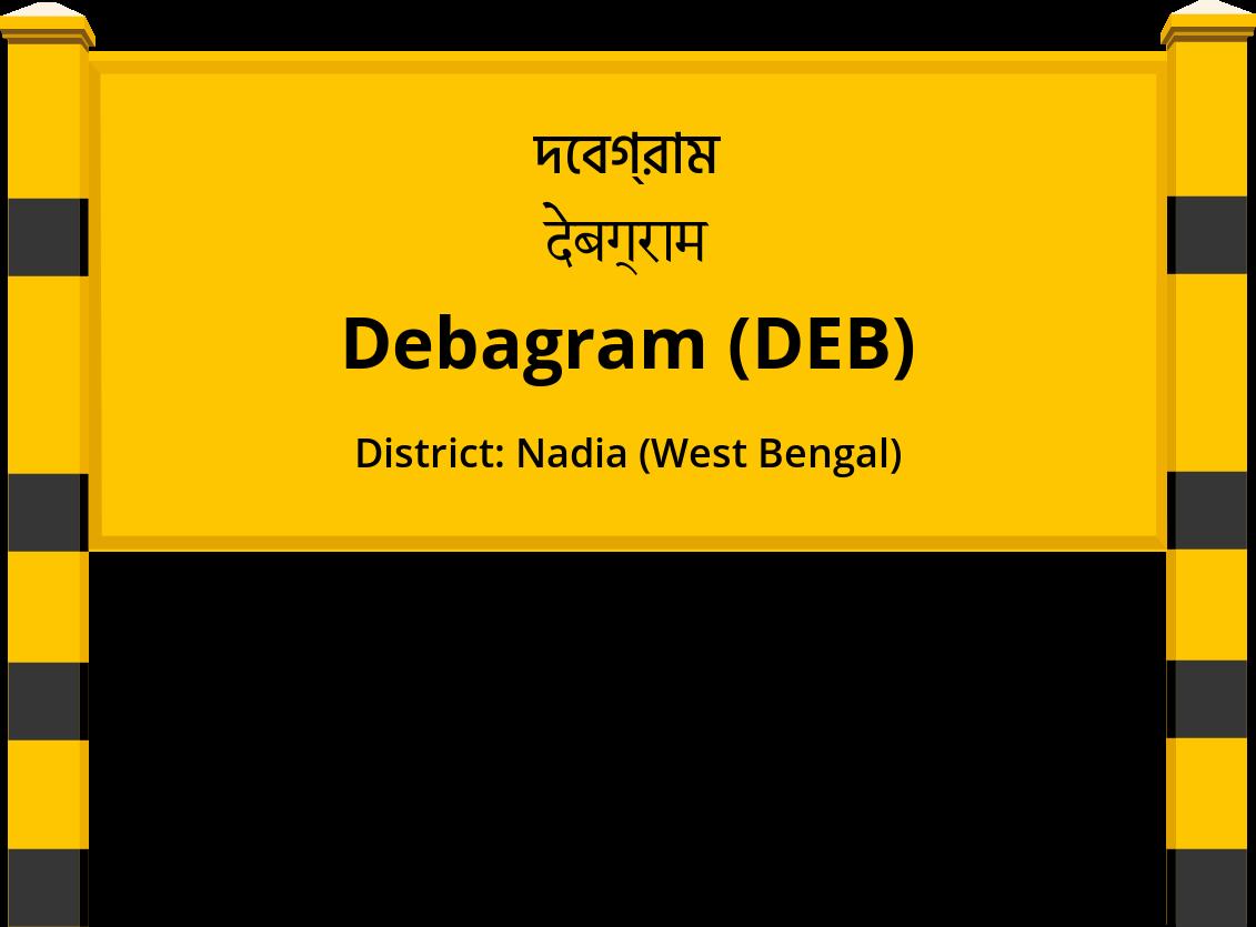 Debagram (DEB) Railway Station