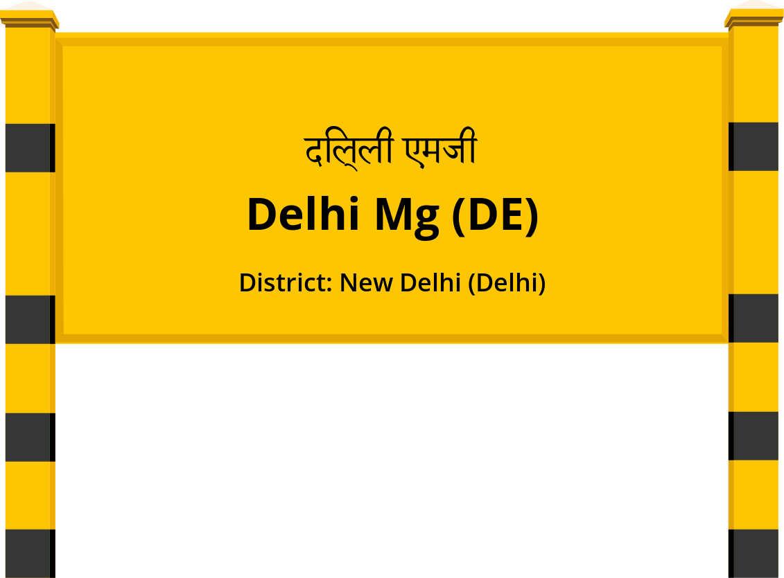 Delhi Mg (DE) Railway Station