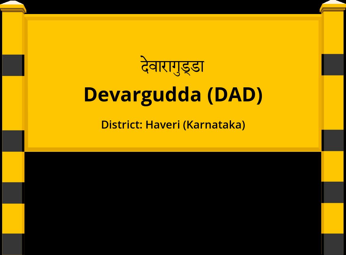 Devargudda (DAD) Railway Station