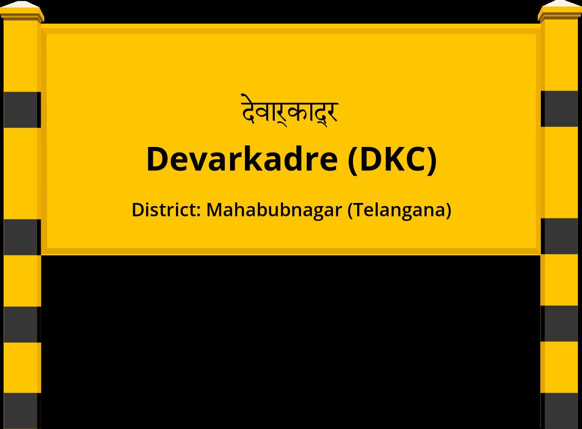 Devarkadre (DKC) Railway Station
