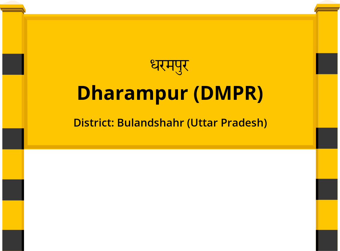 Dharampur (DMPR) Railway Station