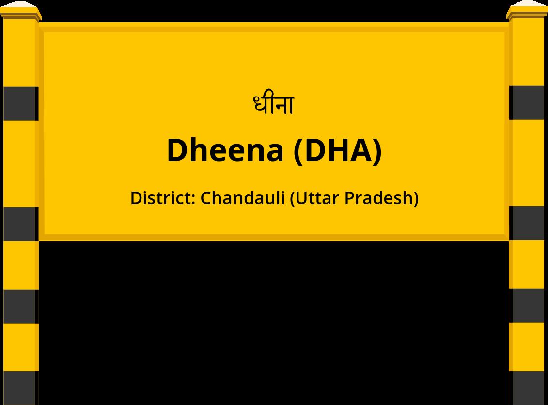 Dheena (DHA) Railway Station