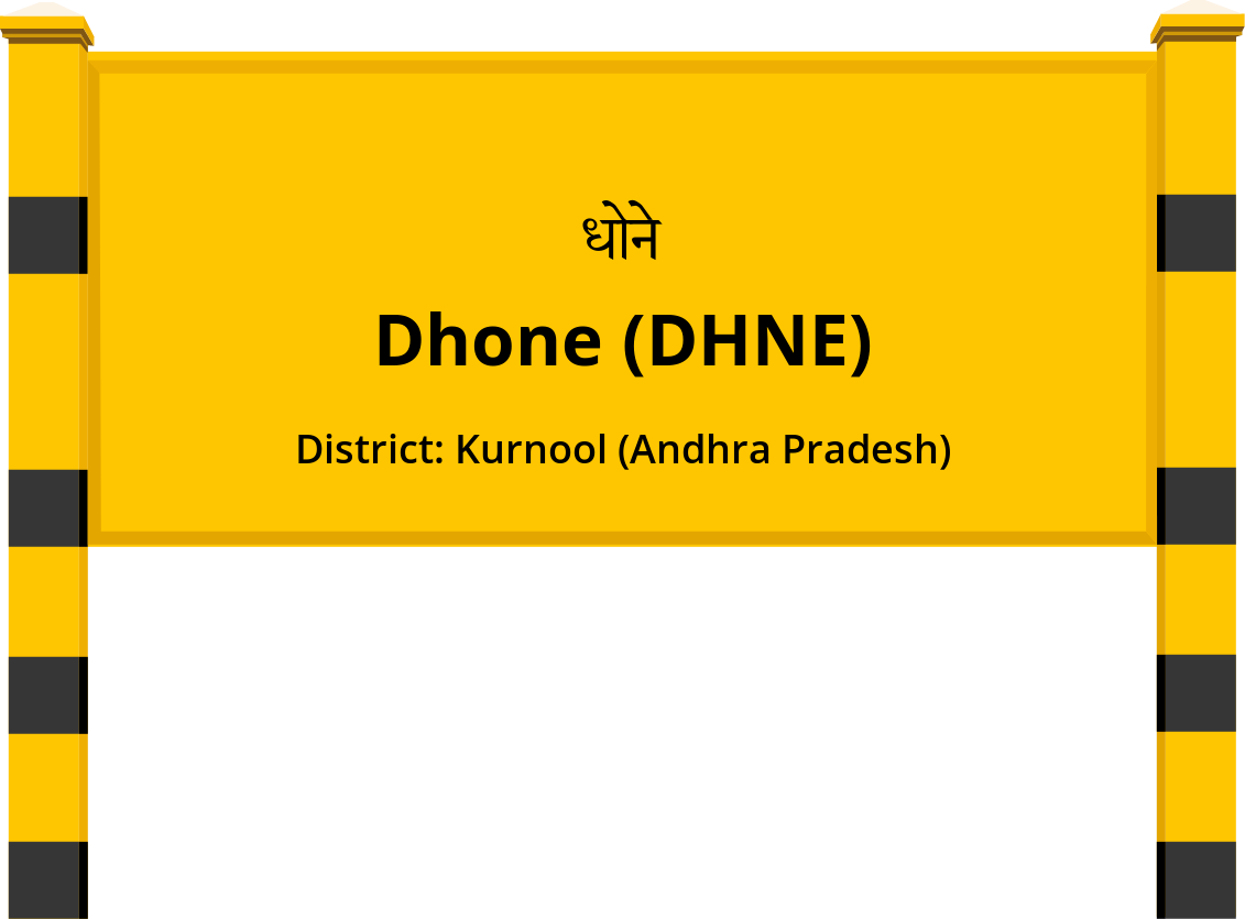 Dhone (DHNE) Railway Station