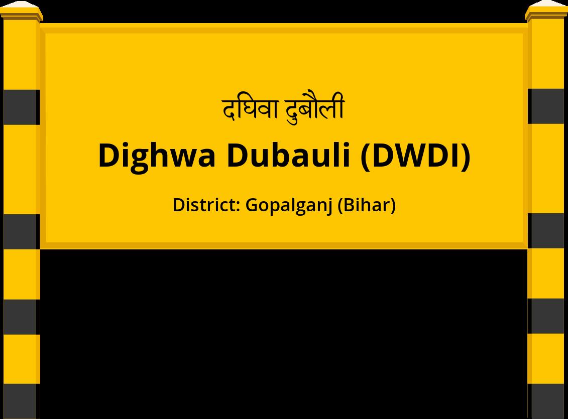 Dighwa Dubauli (DWDI) Railway Station