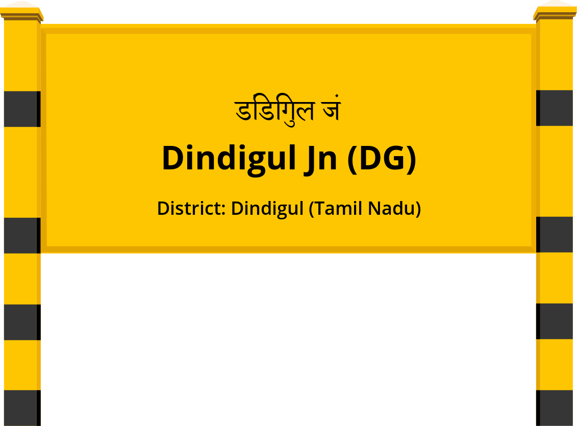 Dindigul Jn (DG) Railway Station