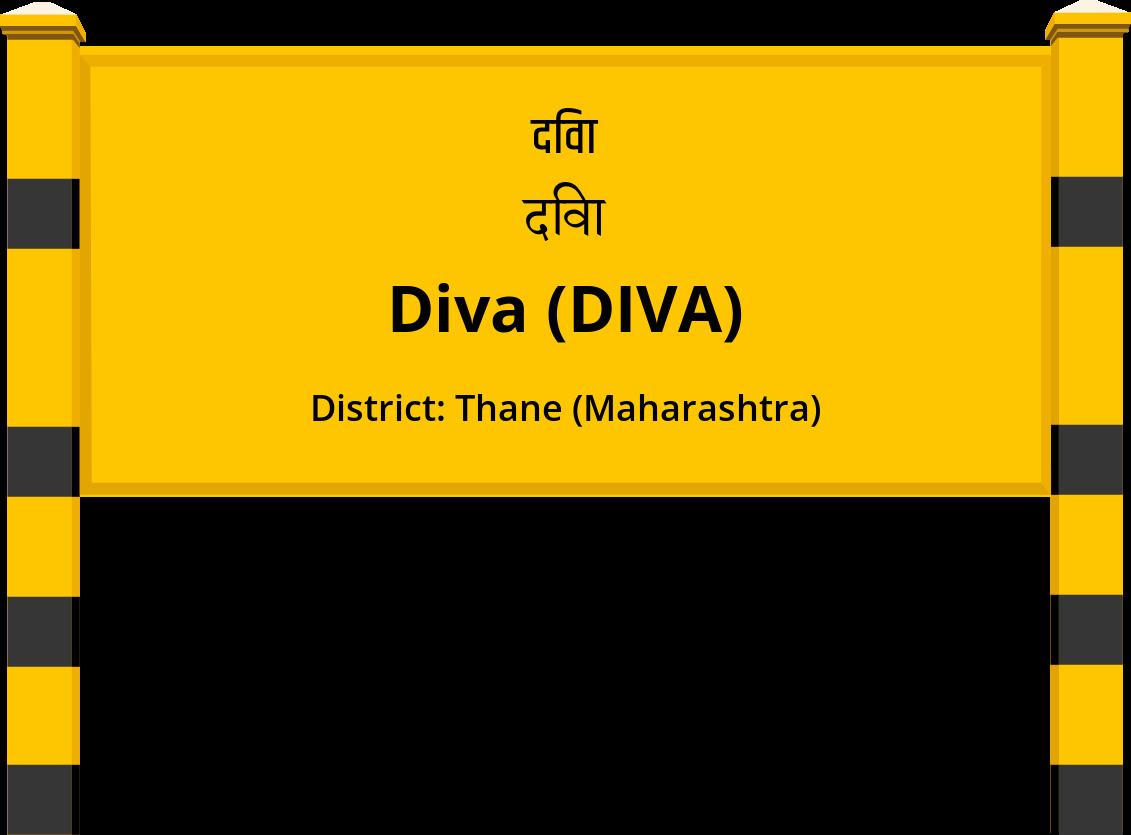 Diva (DIVA) Railway Station