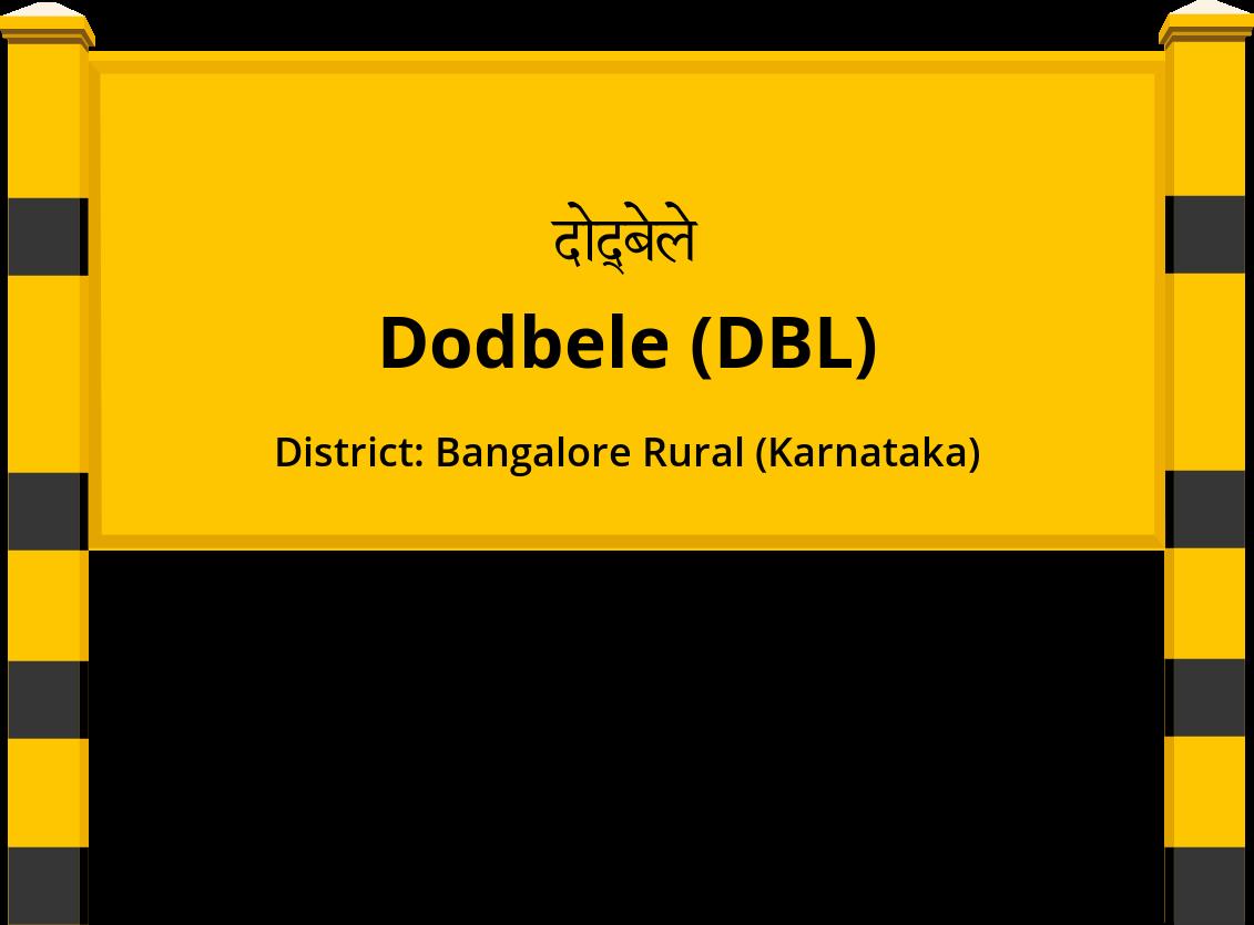 Dodbele (DBL) Railway Station