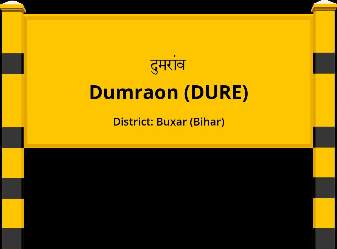 Dumraon (DURE) Railway Station