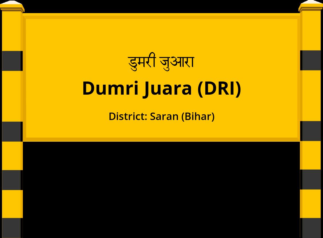 Dumri Juara (DRI) Railway Station