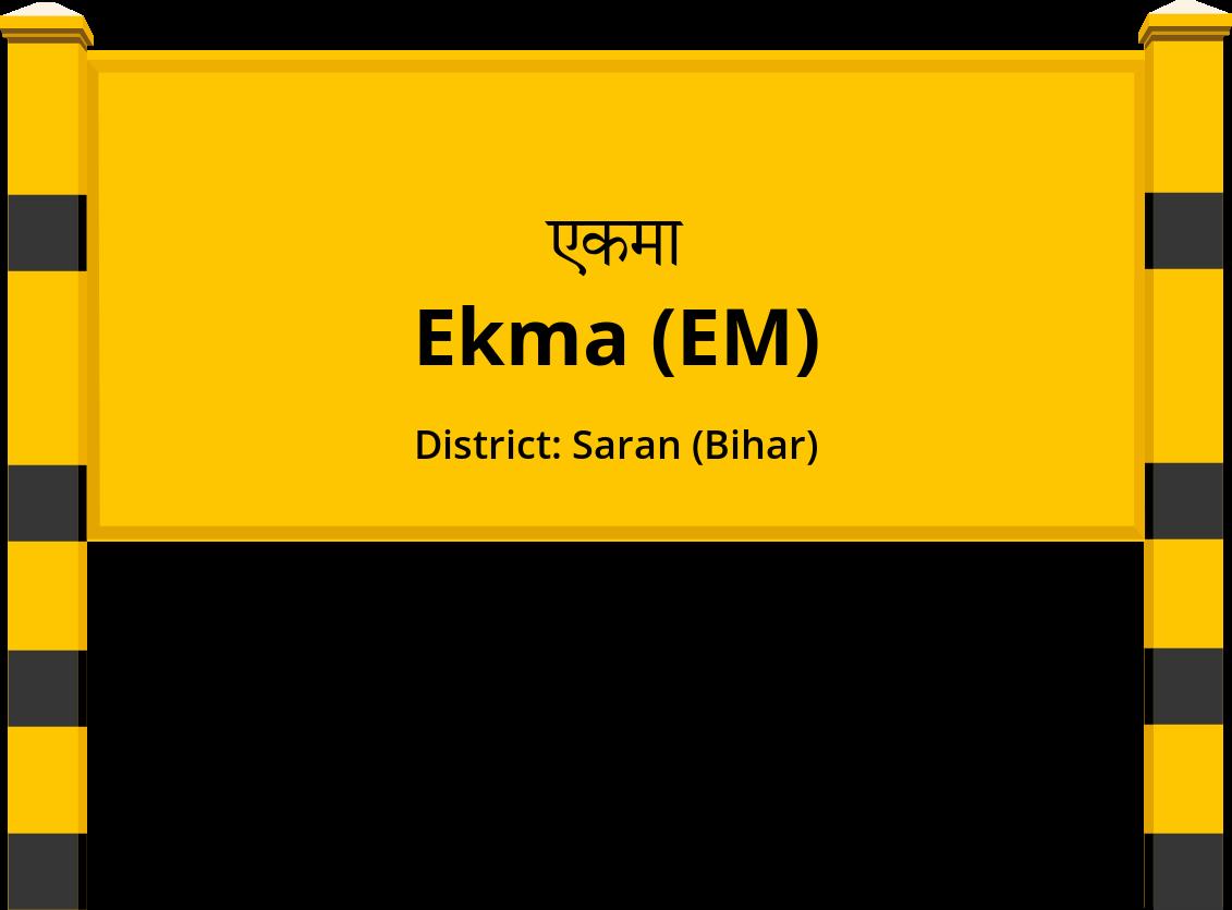 Ekma (EM) Railway Station