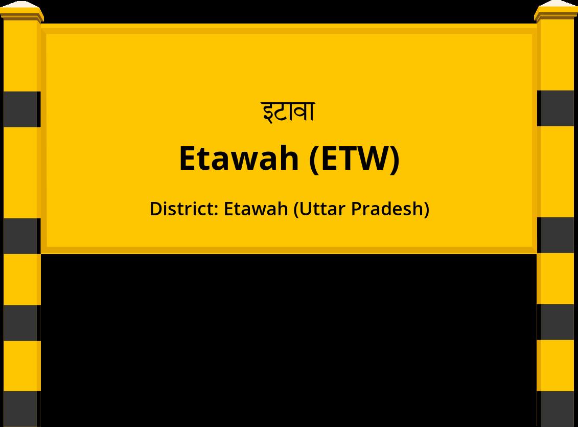 Etawah (ETW) Railway Station