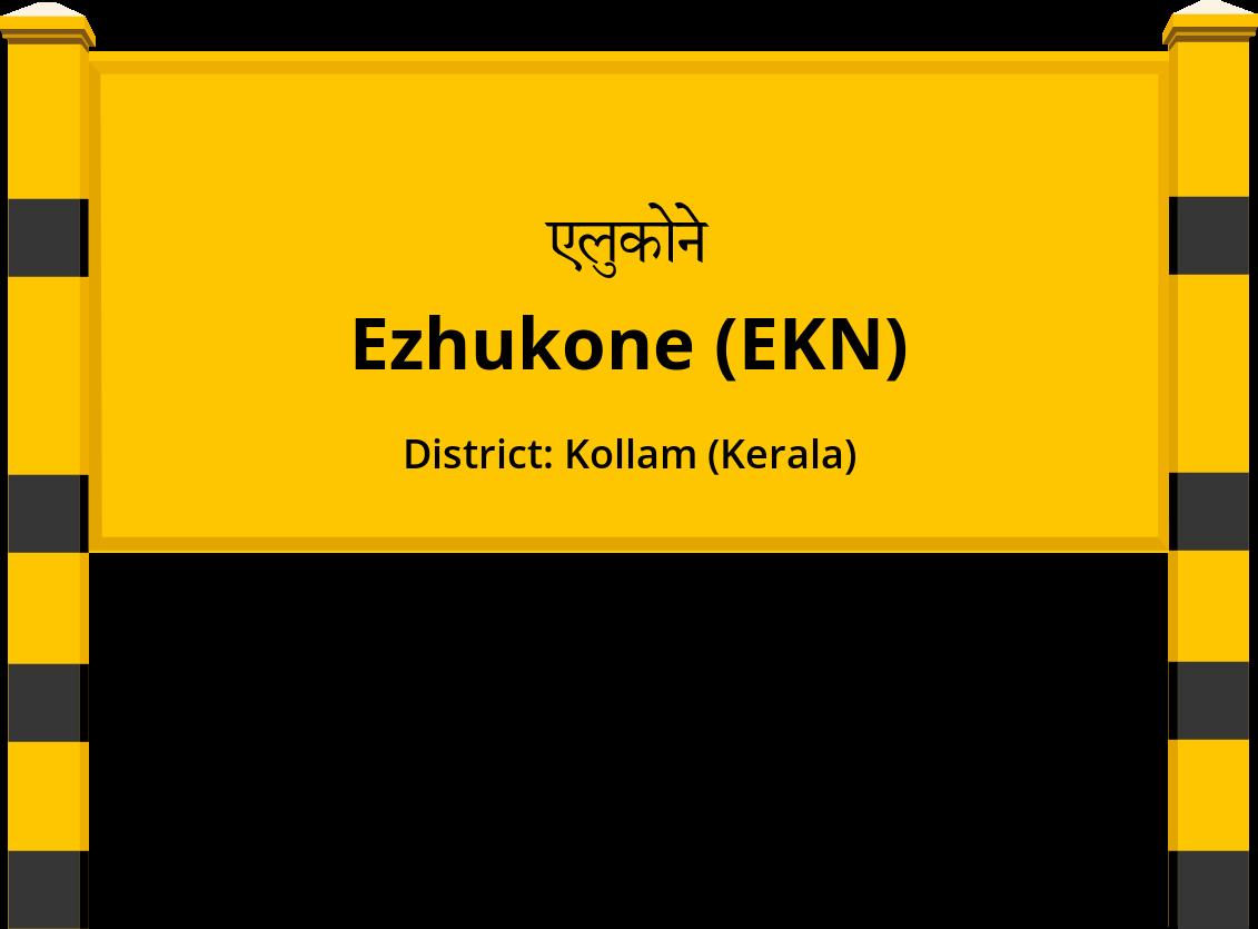 Ezhukone (EKN) Railway Station