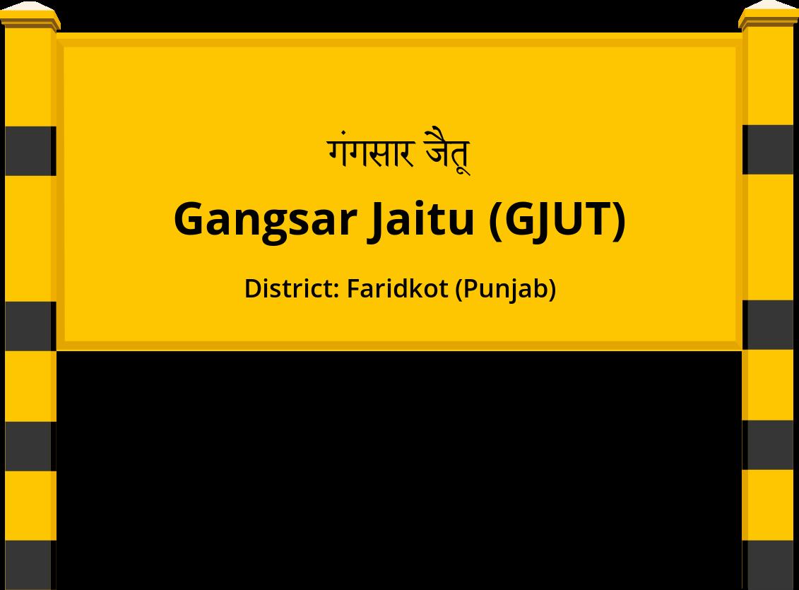 Gangsar Jaitu (GJUT) Railway Station