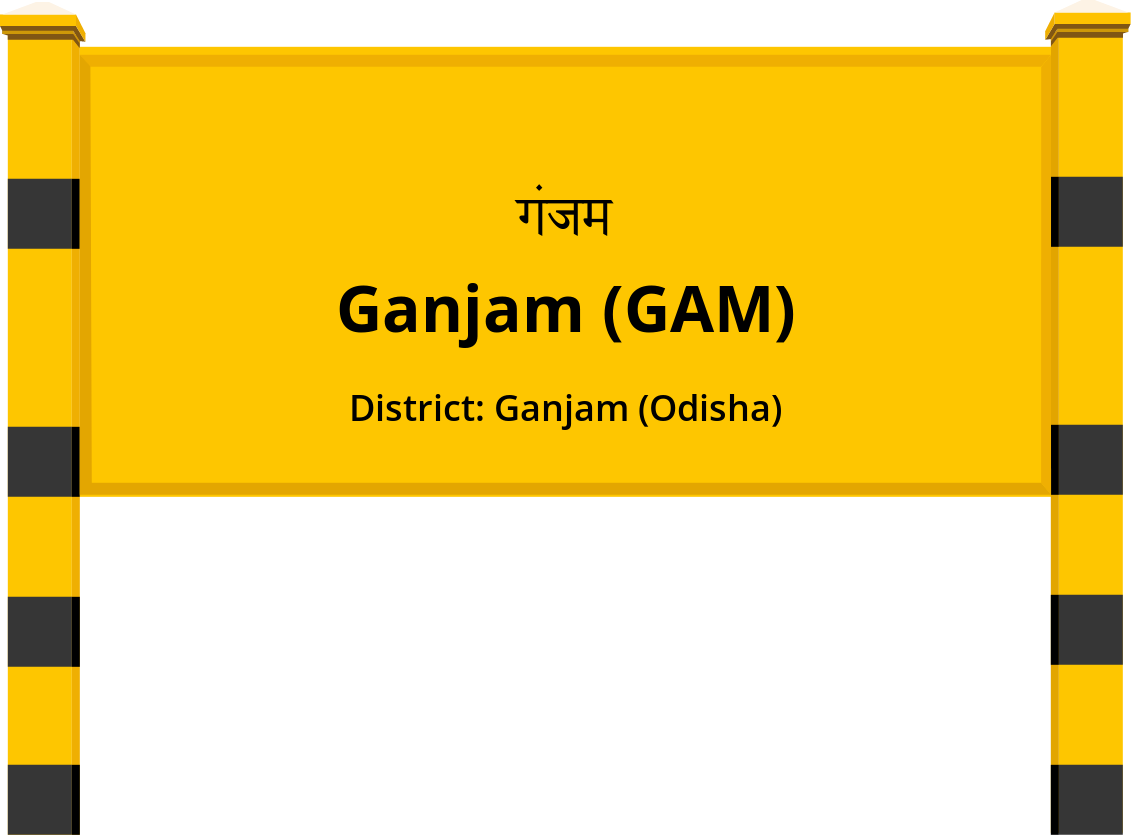Ganjam (GAM) Railway Station