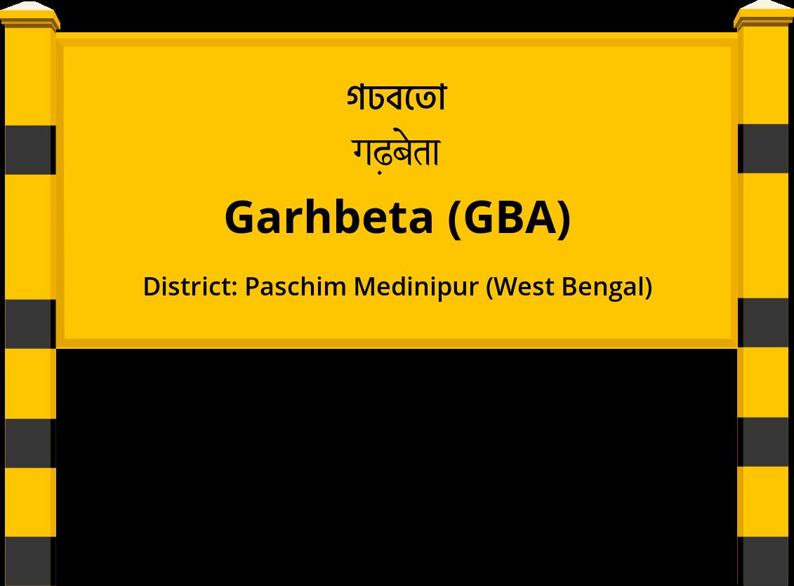 Garhbeta (GBA) Railway Station
