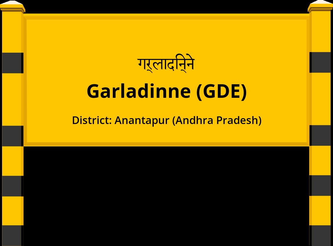 Garladinne (GDE) Railway Station